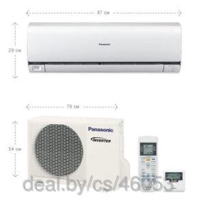 Кондиционер инверторный Panasonic CS/CU — E7NKD